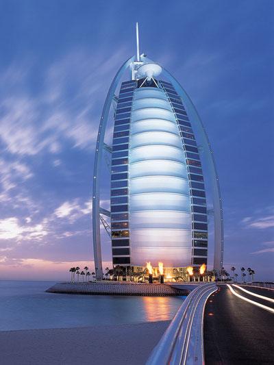 The most expensive hotel in the world - Burj Al Arab