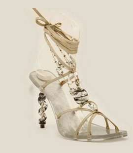 Amazing Glass Shoes - Q by Pasquale