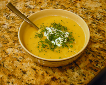 Parsnip Soup Recipe