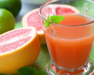 Lemon and grapefruit juice