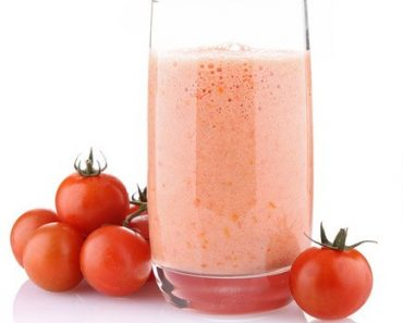 Mixed milk - tomato juice recipe